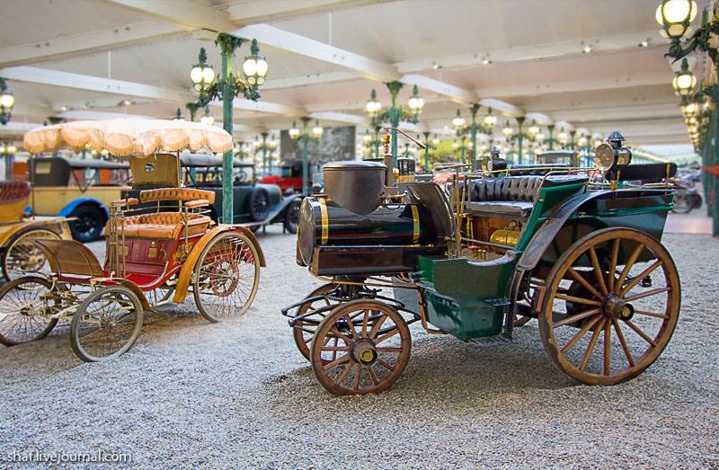 Автомузей; Национальный музей автомобилей, Мюлуз (Mulhouse), Франция; Jacquot Tonneau a vapeur